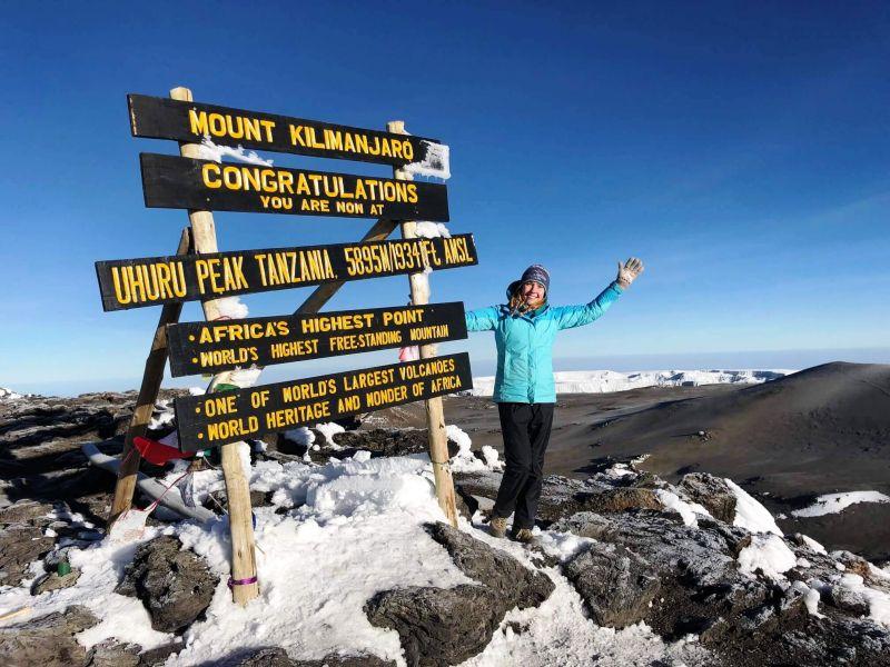 Восхождение на Килиманджаро, пик Ухуро