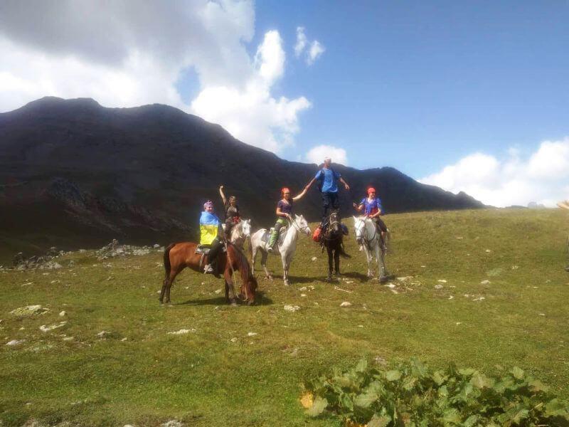 Похід на конях по Грузії