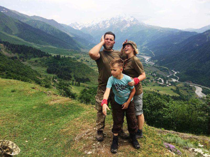 Семейный поход по Грузии