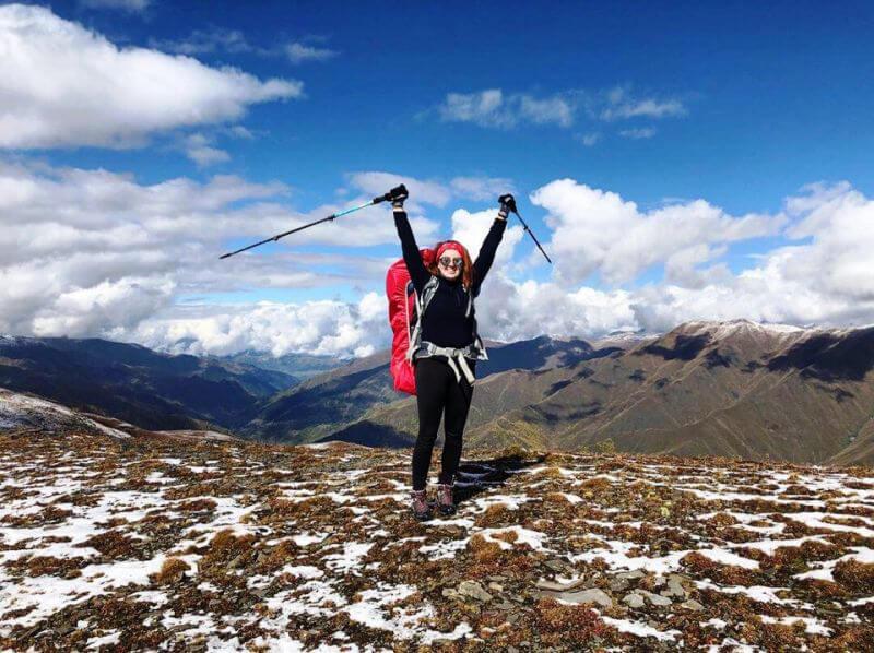 Поход в горы Грузии