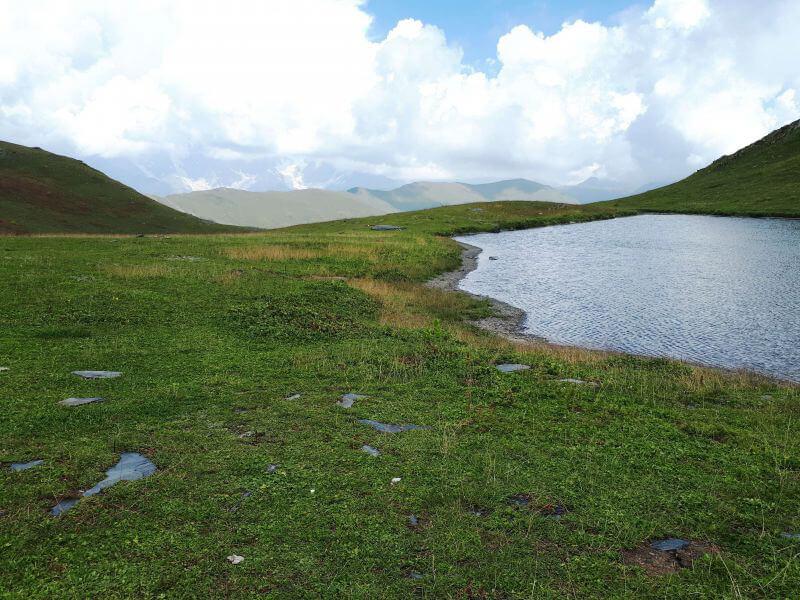 Горное озеро Сванетии