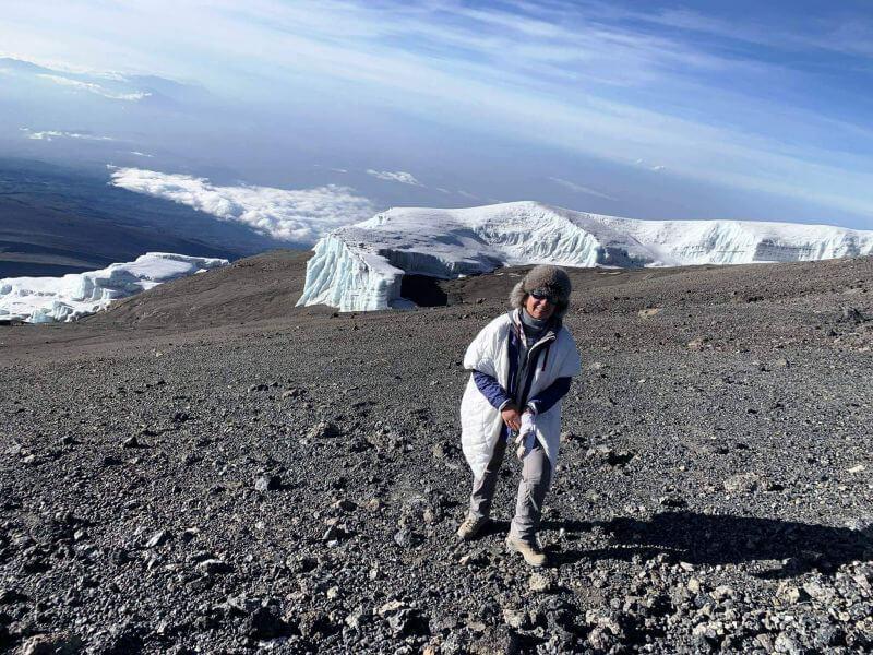 Залишки снігів Кіліманджаро