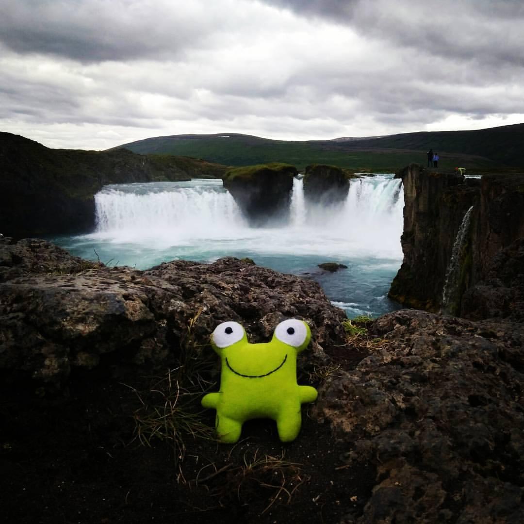 Водопад Богов в Исландии