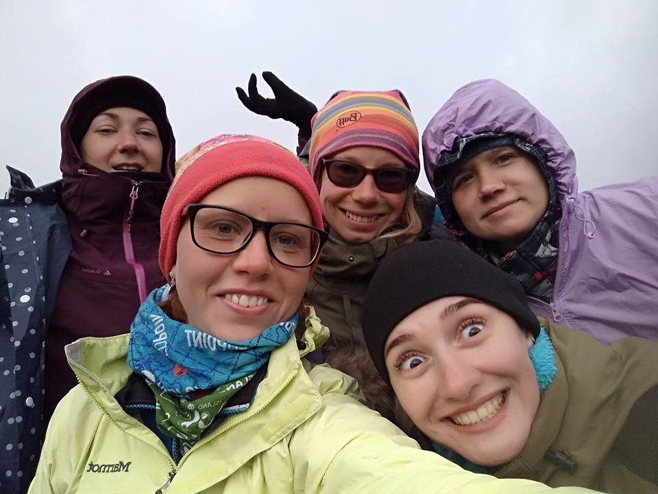 Группа Марины Рубан в Исландии