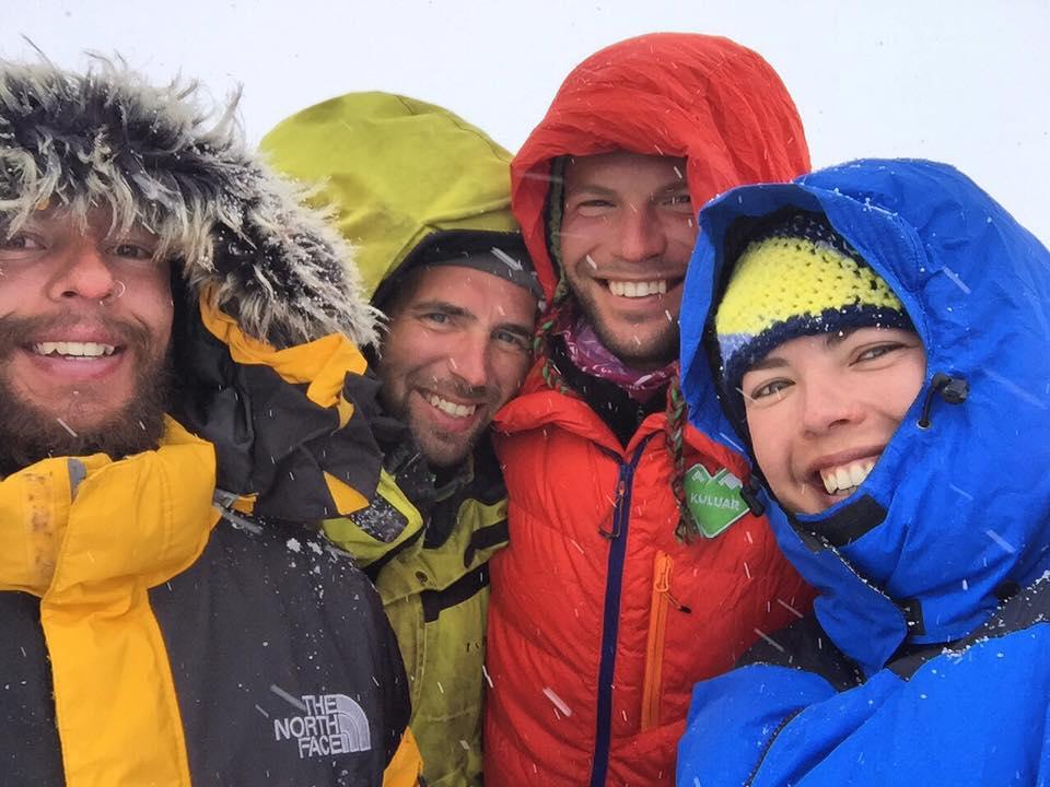 Участники восхождения на пик Ленина