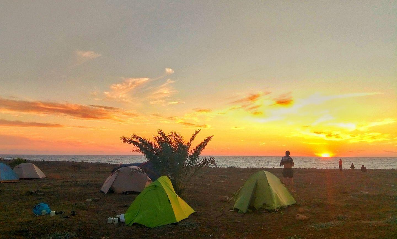 Рассвет над Средиземным морем