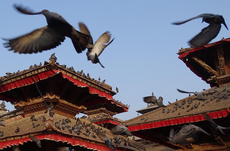 Дворцовая площадь а Катманду