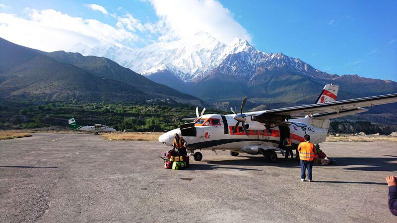 Перелет Джомсом-Покхара