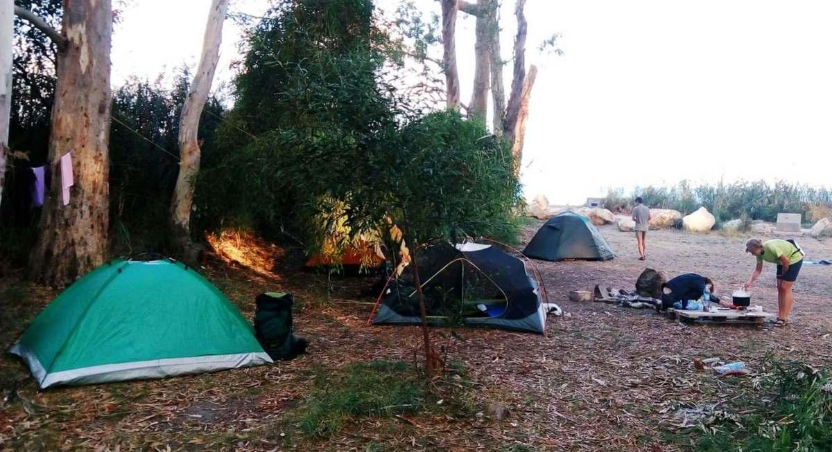 Палатки на Кипре