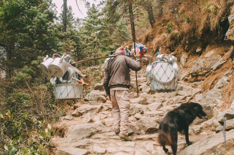 Доставка товаров в горах