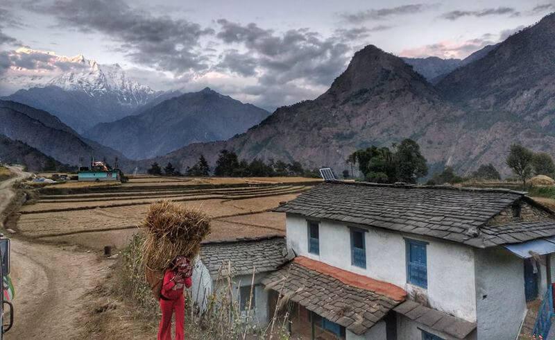 Непал сельская жизнь