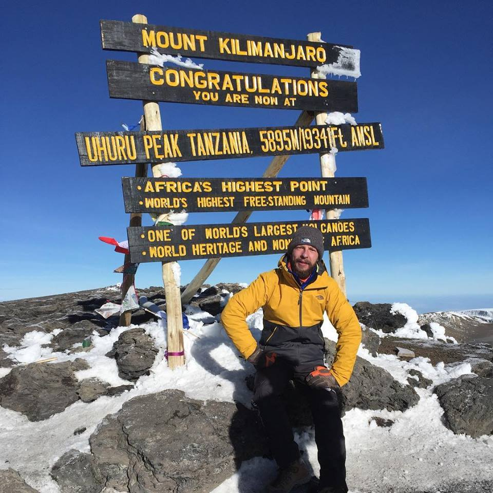 Сергей Новиков на Килиманджаро
