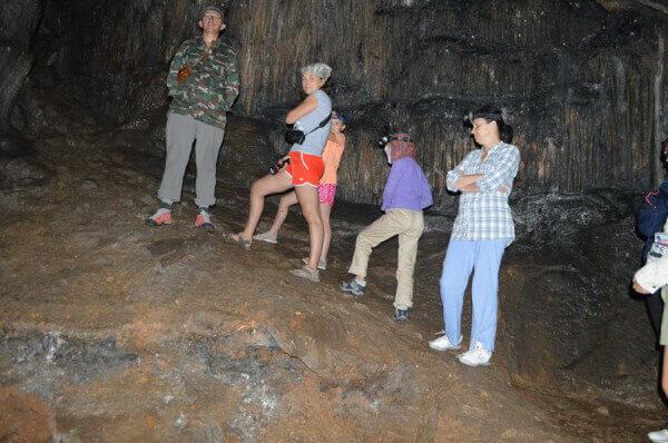 Страшная история в пещере