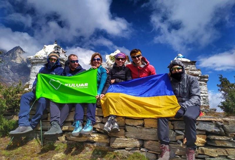 Группа Марины Рубан идет к Эвересту