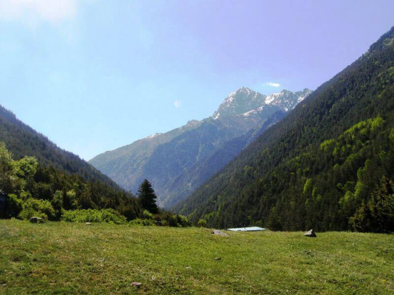 Пейзажи Кавказских гор