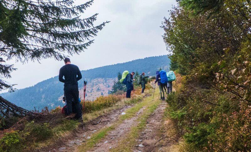 Поход по Черногорскому хребту в Карпатах
