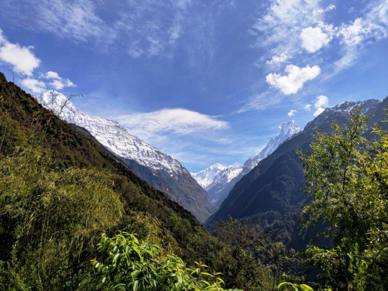 Гималайские пейзажи