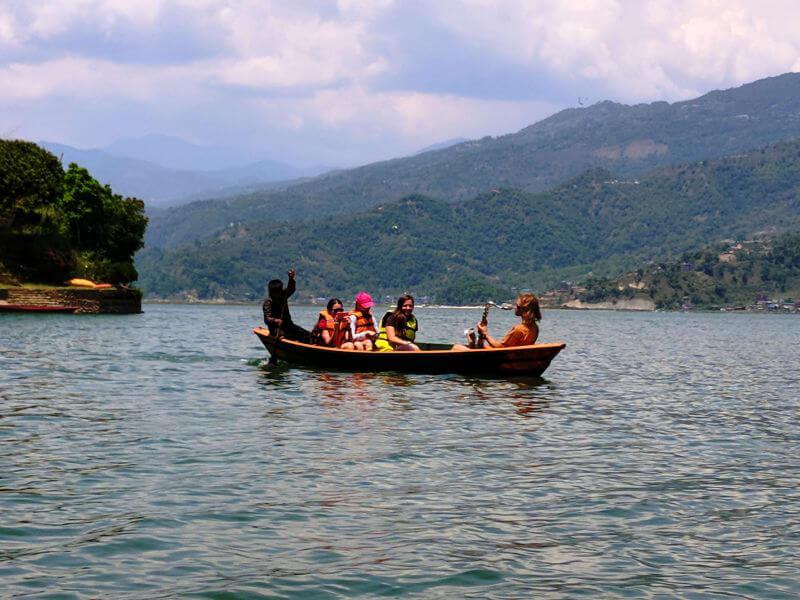 Прогулка по озере Фева