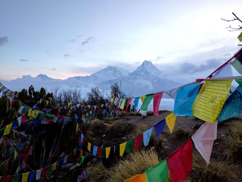 Молитвенные флажки Непала