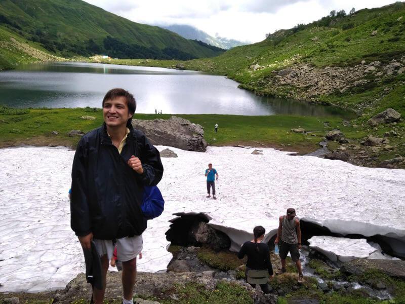 Озеро Чхо