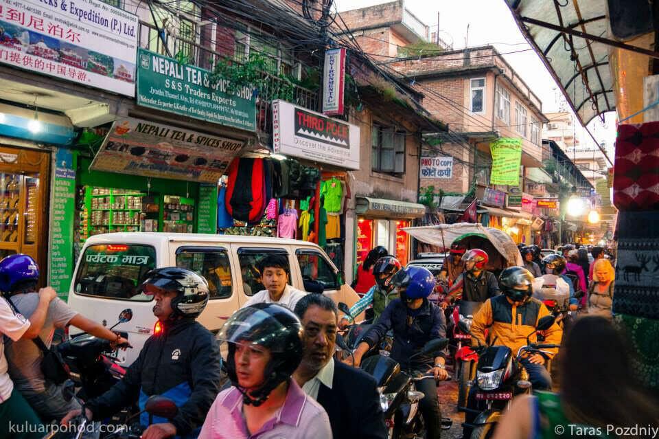 Трек вокруг Аннапурны - Катманду