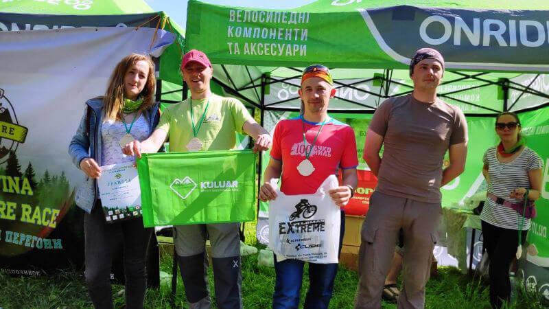 Команда Кулуар з першим місцем