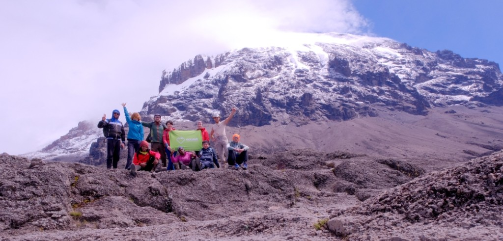 Восхождение на Килиманджаро с клубом Кулуар
