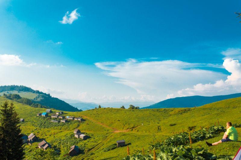 Поход по Черногорскому хребту
