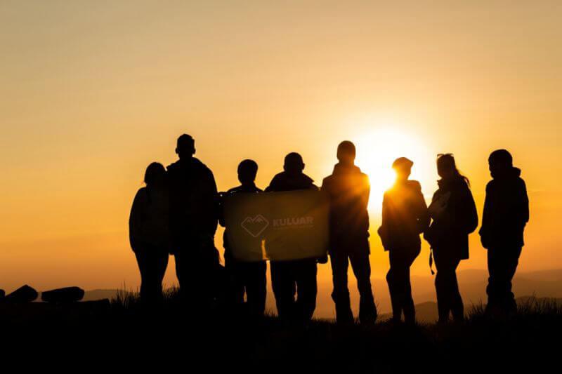 Группа Кулуар в горах
