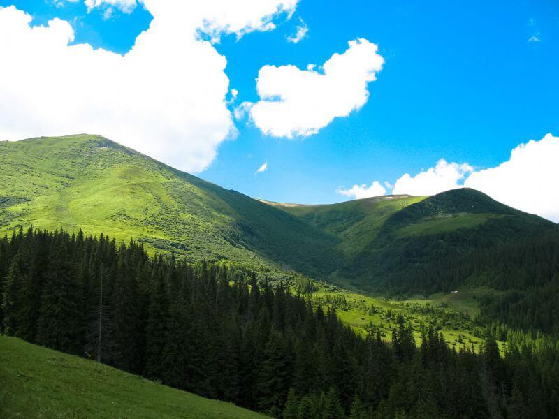 горы Карпат