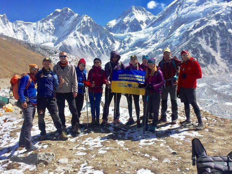Встреча с украинской экспедицией на Эверест