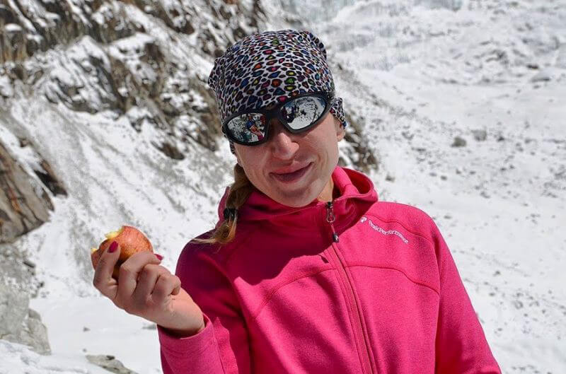 Высокогорные яблоки - самые вкусные. Но и самые дорогие :)