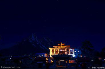 ночной монастырь