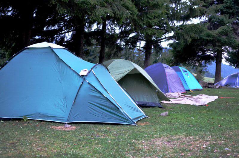 Лагерь в походе