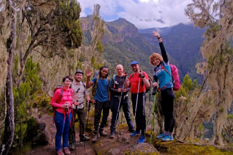 восхождение на г. Килиманджаро (5895 м) по маршруту Марангу