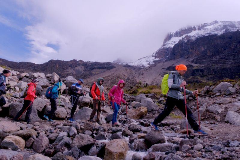 Шира - маршрут восхождения на Килиманджаро выше средней сложности