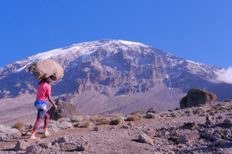 Ронгаи - единственный северный маршрут на Килиманджаро