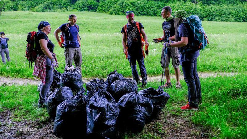 Собираем мусор в Карпатах