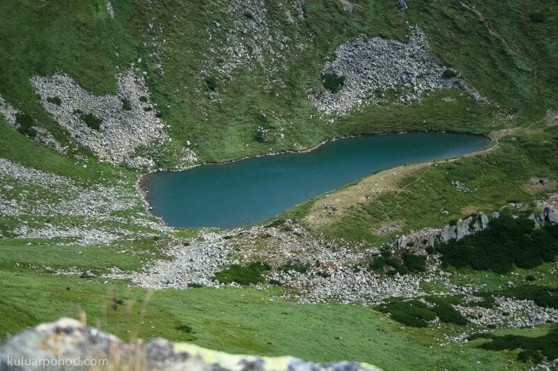 озера Черногорского хребта
