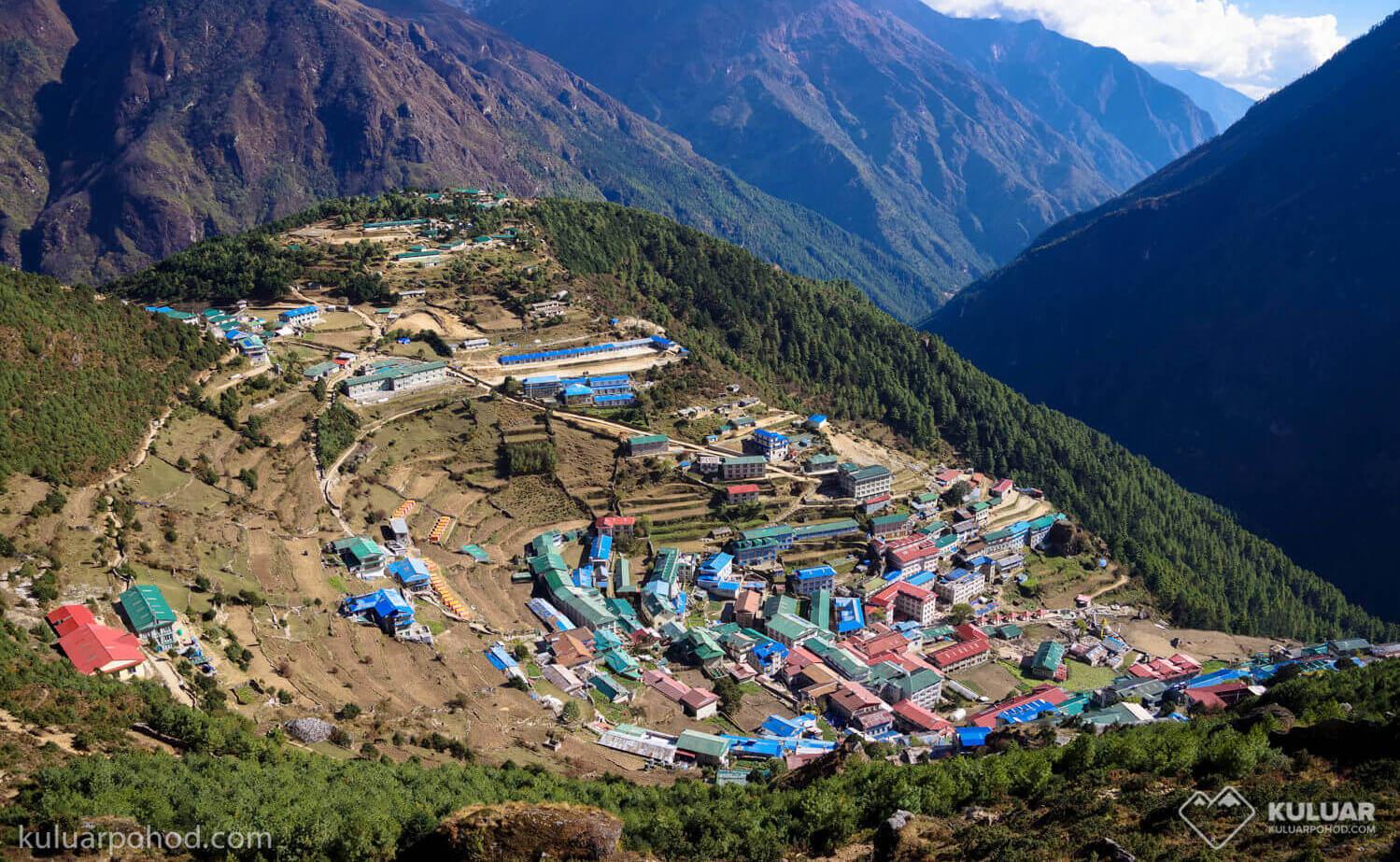 Намче-Базар в Непале