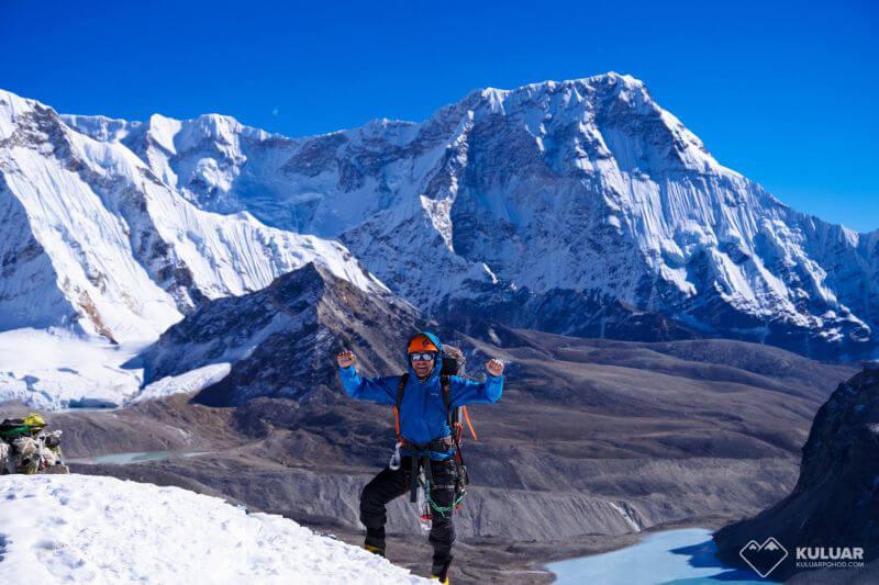 На перевале Ампхулапча