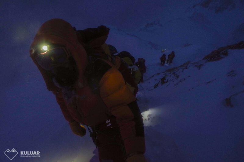 штурмовой выход на Эверест