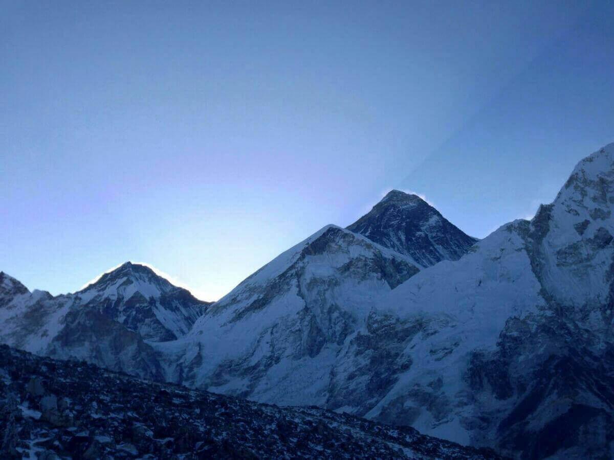Трек к Эвересту - закат