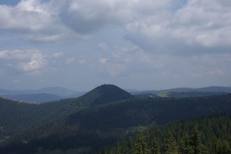 Вид на гору Стиг