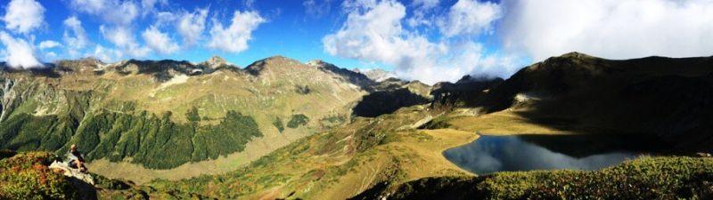 Панорама природы Абхазии