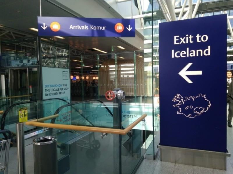 Вихід в Ісландію