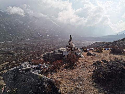 Вид со склонов Тсерго Ри