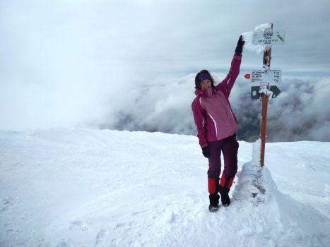 Сходження на Петрос взимку