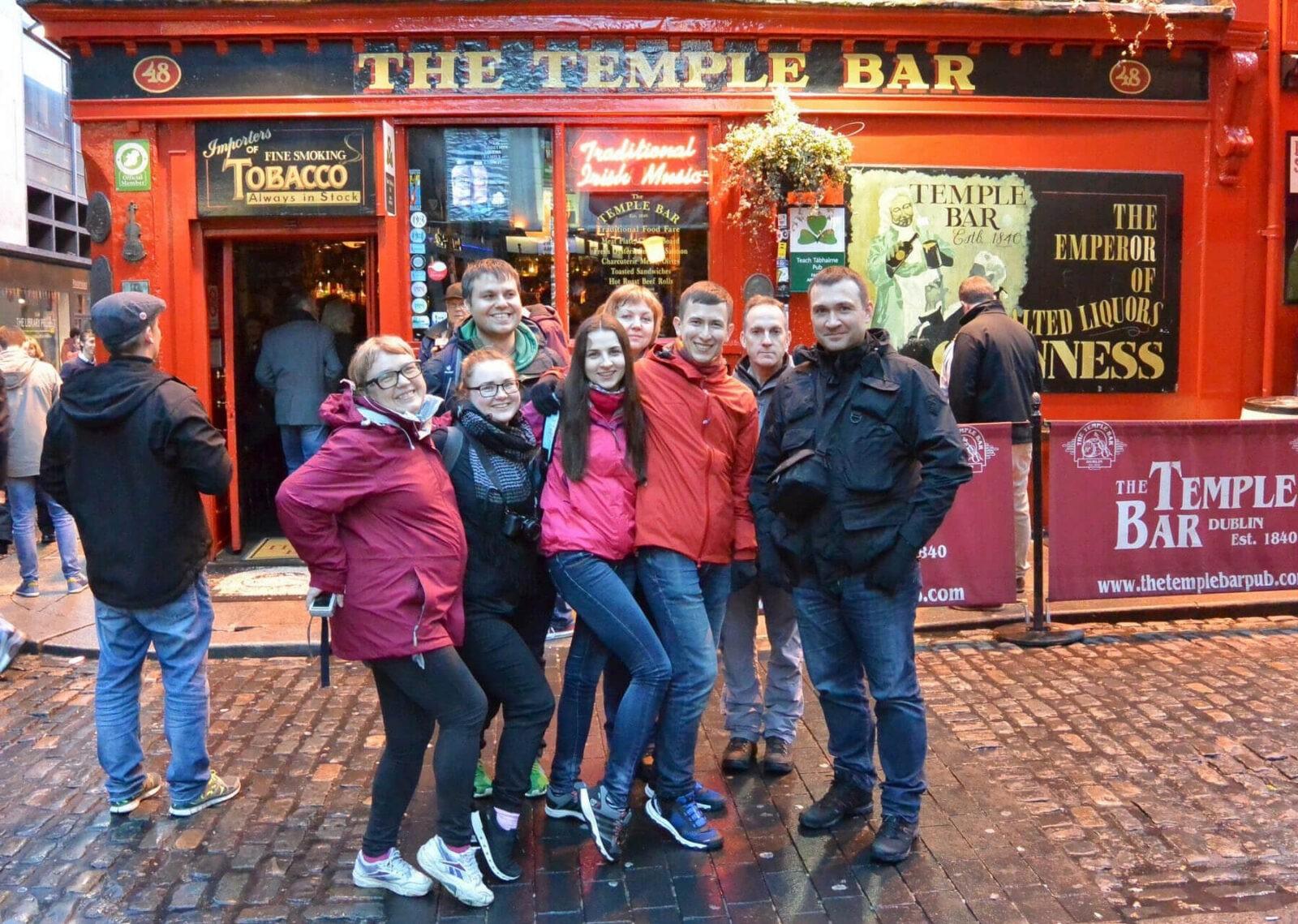 Экскурсии по Дублину