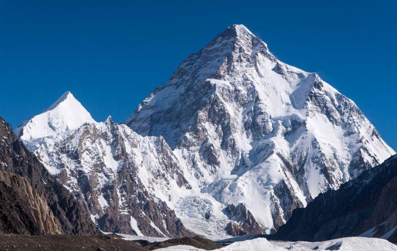 K2 или Чогори - самый северный восьмитысячник